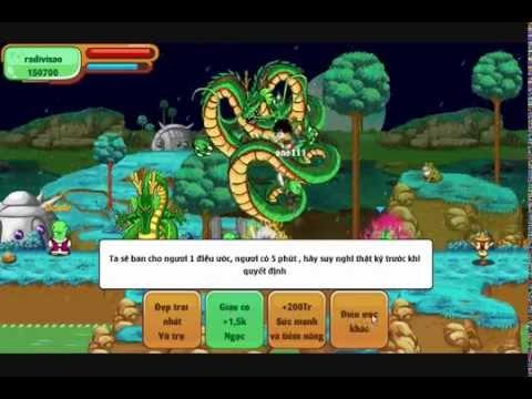 Ngọc rồng online Gọi rồng thần 1s
