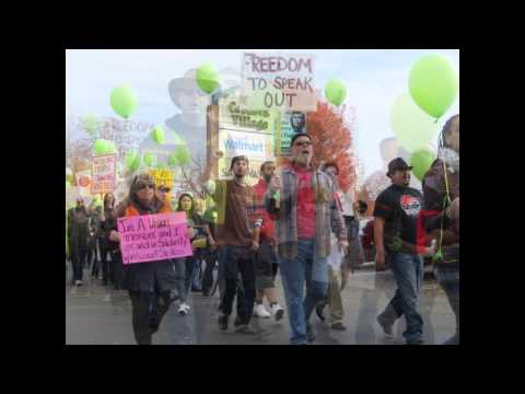 2014 Black Friday Protests - Rancho Cordova, CA