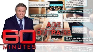 Age of outrage: Part one - Science proves we're getting high on hate | 60 Minutes Australia