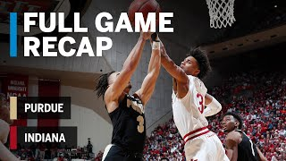 Full Game Recap: Purdue at Indiana | Matt Haarms Tip-In Gives Purdue the Win | Big Ten Basketball