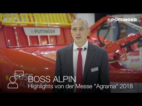 Produktvorstellungen auf der Agrama in Bern (CH)