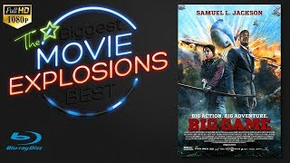 The Best Movie Explosions: Big Game (2014) Air force One Escape [HD]