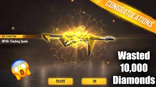 I Got New Mp40 From Incubator | Wasting 10,000 Diamonds In FreeFire | Garena Free Fire - P.K. GAMERS