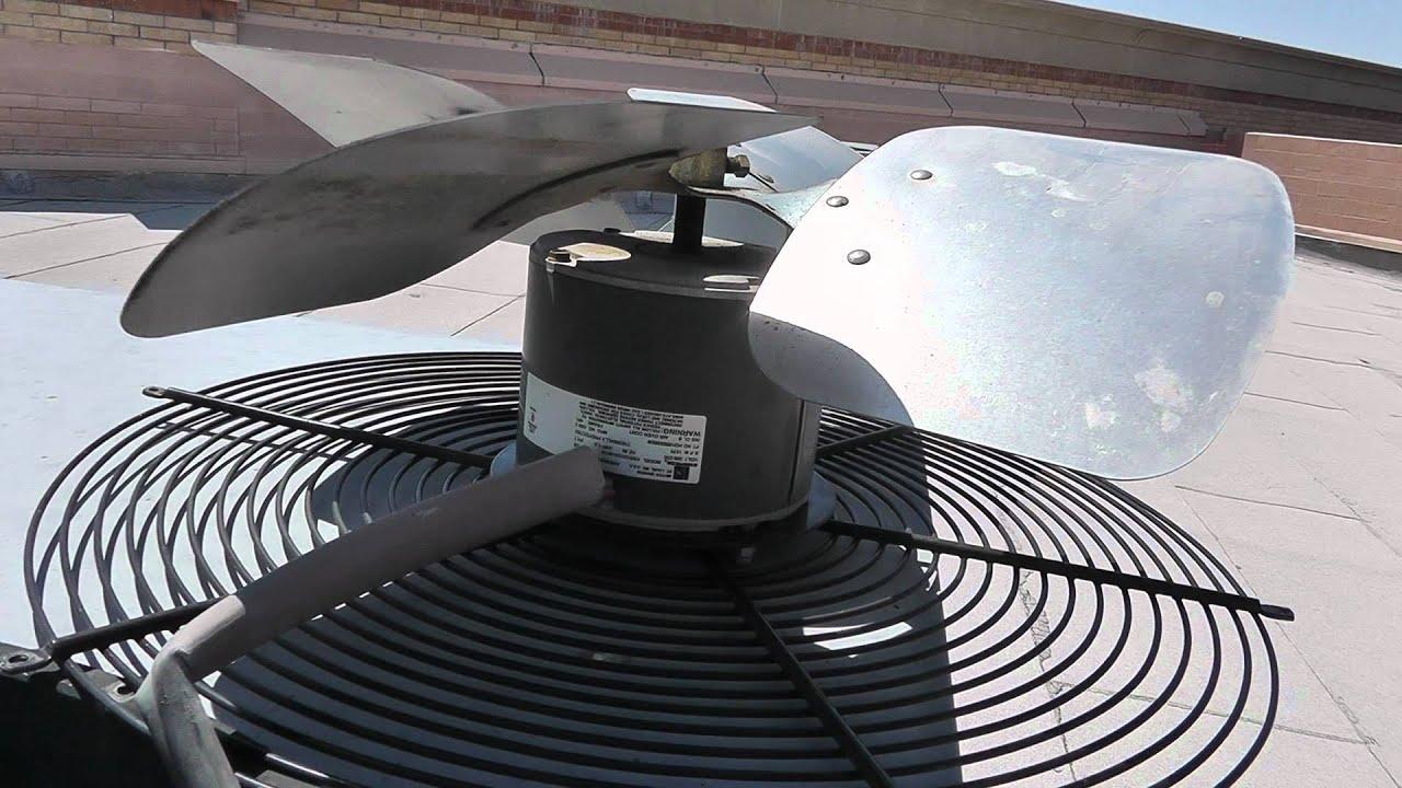 Heat Pump: Outside Fan Not Running On Heat Pump