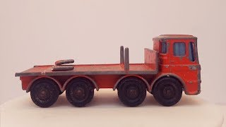 MATCHBOX Restoration No 10d Pipe Truck 1966