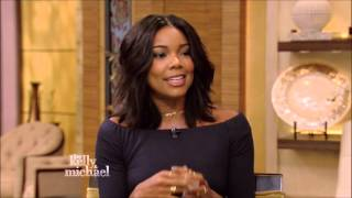 Gabrielle Union Live With Kelly and Michael 10 13 2015