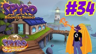 Harbor Speedway - Spyro Reignited Trilogy - Let's Play Spyro: Year Of The Dragon - Part 34
