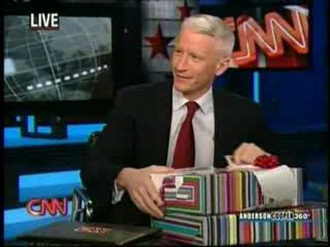 CNN's Anderson Cooper gets a Wy (wii)