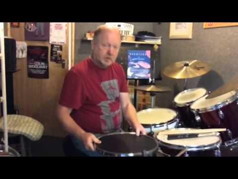 "Bill Sanders 14"" Practice Pad"