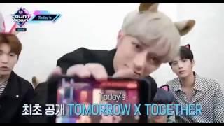 042519 TXT Introducing BTS (방탄소년단) @ M COUNTDOWN