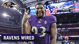 Calais Campbell and Orlando Brown Jr. Mic'd Vs. Texans | Ravens Wired