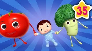 Yum Yum in your Tum | How To Nursery Rhymes | Fun Learning with LittleBabyBum