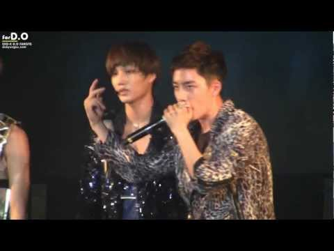 [for D.O.] 120714 EXO-K D.O. beatbox @ NH concert
