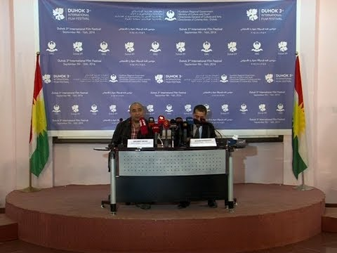 3rd Duhok International Film Festival 2014 - Press Conference Highlights
