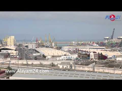 الإضراب يشل ميناء الدارالبيضاء