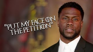 Kevin Hart Reacts To The Game Of Thrones Season 8 Ending & HBO Taking Control From George RR Martin