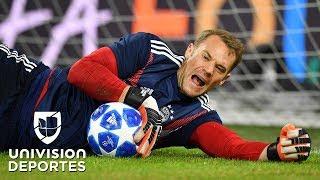 ¡Reapareció el Campeón del Mundo! El show de atajadas de Neuer con el Bayern Munich en Champions