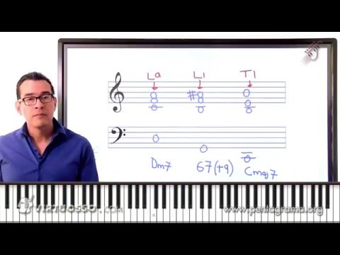 Curso de Piano Jazz - Como Tocar Acordes Cromáticos