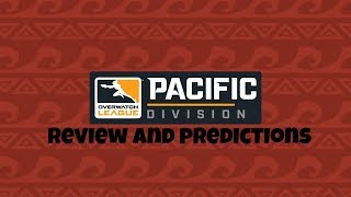 Overwatch League 2019 Pacific Division