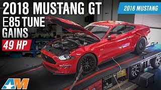 2018 Ford Mustang GT Performance Pack E85 VMP Tune and Dyno Results