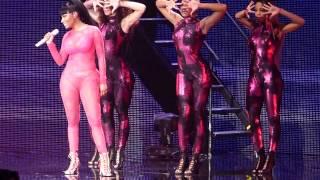 Nicki Minaj Super Bass - The Pinkprint Tour O2 Arena London