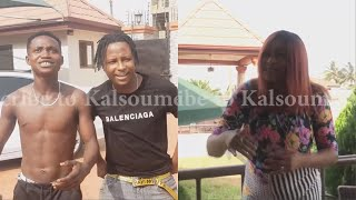 KALSOUME Stops KELVYN BOY From Signing SHOWBOY😂😂😂(Kalsoume Sinare Funny Movie Clip)