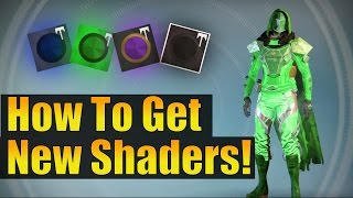 Destiny - How To Get All NEW Festival Of The Lost Shaders!