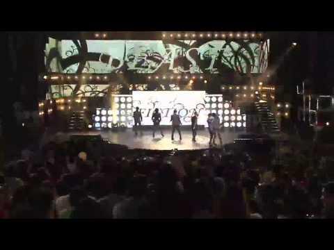 BEAST - Shock, Fiction, Beautiful, YouTube Presents MBC K-pop concert 20120521