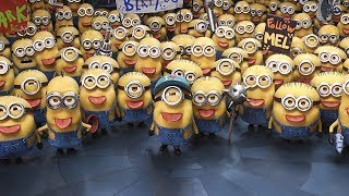 DESPICABLE ME 3 - THE MINIONS WANT TO QUIT FROM GRUU