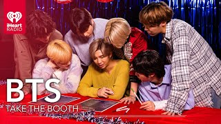 """BTS Takes """"The Booth"""" For The iHeartRadio Music Awards 