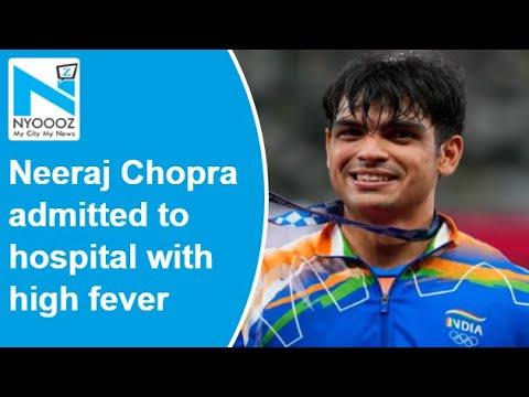 Olympic gold medalist Neeraj Chopra hospitalised, leaves ceremony midway