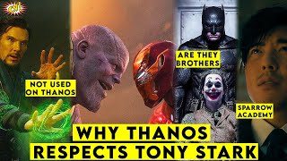 Why Thanos Respects Tony Stark || Unanswered Questions ep - 7 || ComicVerse