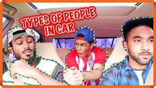 TYPES OF PEOPLE IN CAR