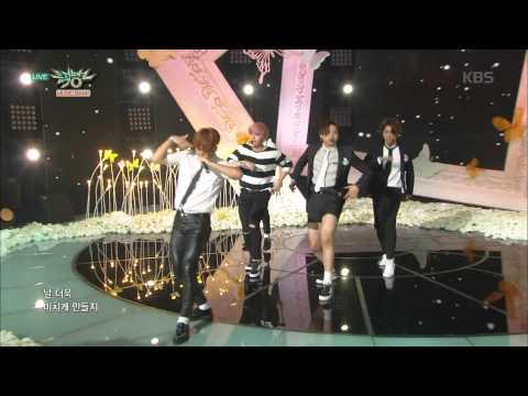 [kbs world] 뮤직뱅크 - B1A4, 여심 흔드는 달콤함 '스윗 걸'. 20150814