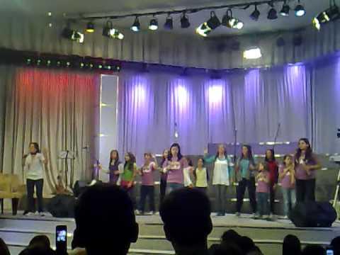Rey de Reyes kids, presentacion 9/07/09 CANTARE DE TU AMOR POR SIEMPRE [4]