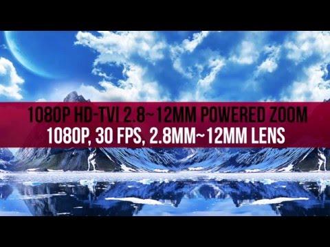 1080P HD-TVI Powered Varifocal Dome 2.8~12mm Lens