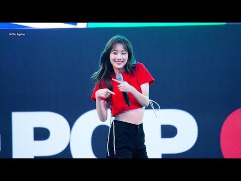 180623 에이프릴(April) 2018 K-POP 커버댄스 페스티벌 '띵(Tting)' 나은(NAEUN) 직캠 by 김이모 - 4K