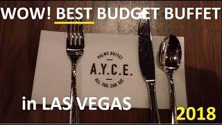 Fabulous NEW Budget Vegas Buffet:  2018 Saturday Brunch @ Palms - VIDEO - top-buffet.com