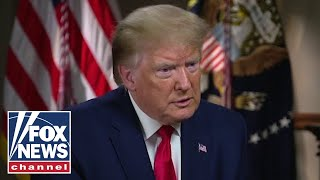 Exclusive: Trump answers tough questions on state of US law enforcement