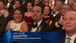 Acceptance Speech - Best Score: Lin-Manuel Miranda (2016)