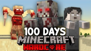 I Survived 100 Days in a ZOMBIE WASTELAND in Minecraft...