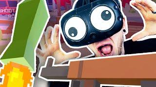 VIRTUAL REALITY ROCKET LAUNCHER?! | Grass Simulator VR
