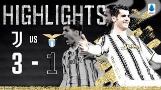 Juventus 3-1 Lazio   Morata Brace Seals Comeback Win!   Highlights