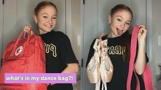 what's in my dance bag!? | mackenzie davis