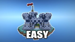 Minecraft How To Build A Mini Castle Tutorial PC / PS3 / PS4 / XBOX / MCPE #3