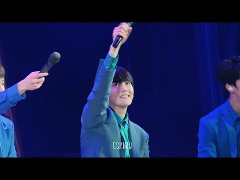 160401 시크릿나잇 Sing for you 백현 focus.