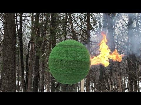 42,000 Match Sphere Gets Lit