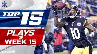 Top 15 Plays of Week 15 | 2017 NFL Highlights