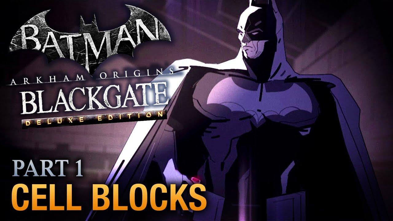 Batman: Arkham Origins Blackgate Walkthrough - Part 1 ...