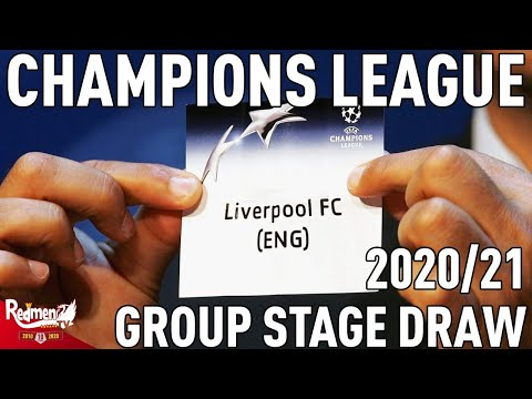 Champions League LIVE Group Stage Draw Reaction | 2020/21